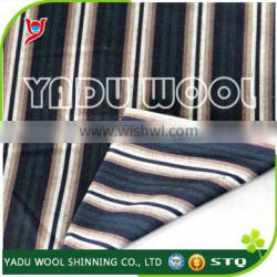 Striped clothing fabric / polyester jacket fabric for sale