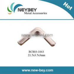 Decorative metal book corner BC803 for 3mm thickness book