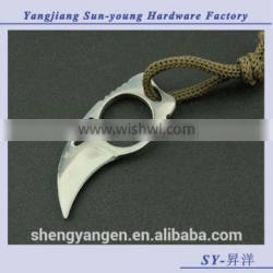 OEM multifunctional outdoor camping hunting survival claw blade knife/knives