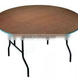 outdoor wood banquet folding table