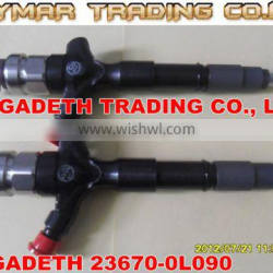 DENSO common rail injector 295050-0180 for TOYOTA Hilux 23670-0L090
