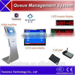 Electronic Complete bank/government/hospital Touch Screen Thermal Ticketing Queuing Systems