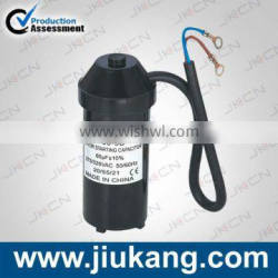 CD60 3uf capacitor for starting , super quality ac motor starting capacitor made in China