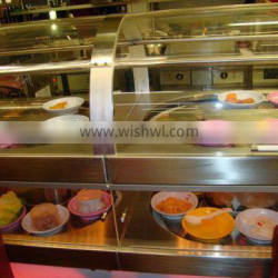 double-deck food conveyor system with CE&NSF,best quality and price