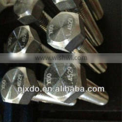 Incoloy a286 bolts and screws 1.4980 a286 fasteners gh2132