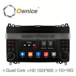 quad core Android 4.4 Ownice C300 navigation car GPS for Benz A-W169 B-W245 support OBD Bluetooth PHONEBOOK RDS