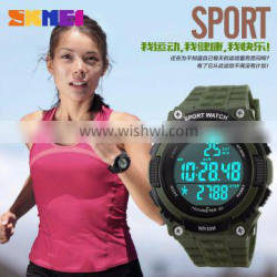 Guangzhou SKMEI quamer sport Led watch time watch instruction with wholwsale price