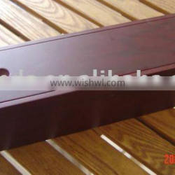 wood red wine box with removable lid