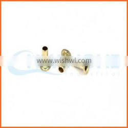 alibaba high quality copper hollow rivets