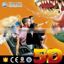 Roller coaster! Experience the Thrilling 4D mini movie cine