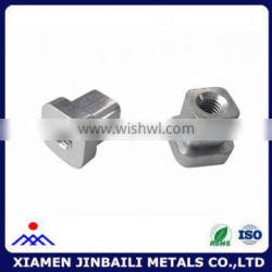 CNC custom square nuts from China factory