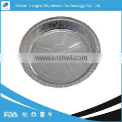 """sale takeaway 9"""" round pan aluminum foil container with aluminum paper lid"""
