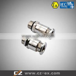 ATEX & IECEX certified explosion proof metal cable entry (Metric NPT G thread)