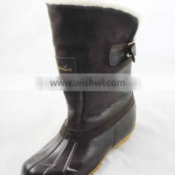 rubber sole LAdies Bing-BOOTS