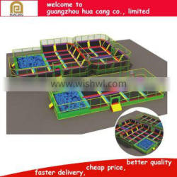 2016 Best selling outdoor rectangle trampoline, China Supplier Gym Equipment Trampoline