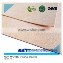 non woven insole board and cellulose insole board for shoes making