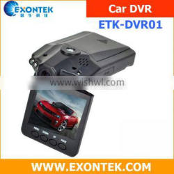 Shenzhen factory wholesale car accessories spare parts car dvr with 6 night vision light videoregistrator with 1 year warranty