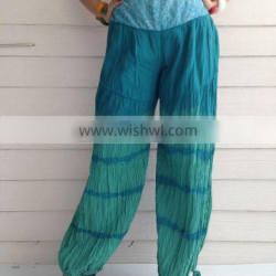 Supplier Latest Wholesale pinstripe poter pants for women