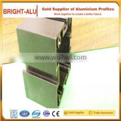 T slot aluminum extrusion slotted base for product line