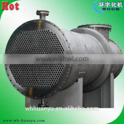 heat exchanger with copper tubes