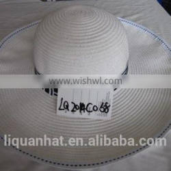 promotional new style lady beach paper straw hat