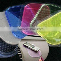 pu material strong transparent sticky mat for mobile phone
