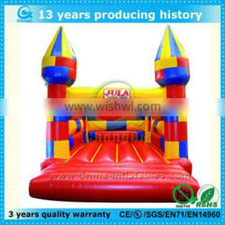 colorfull small inflatables theme castles