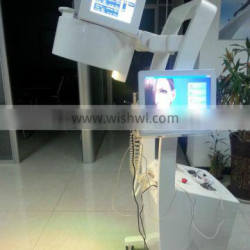laser diode hair growth /helmet machine with minoxidil electric massage comb