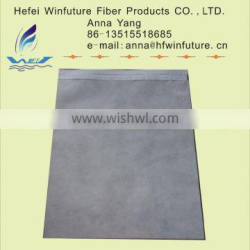 nonwoven dispoable headrest cover with printing and hook and loop