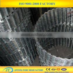 cross razor type and stainless steel wire material razor wire razor barbed wire