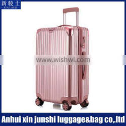 ABS+PC High Quality Cool Colorful Trolley Luggage Bag Suitcase