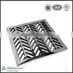 Stainless steel outdoor drain cover