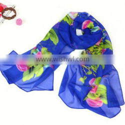 Hot Sale New Women Scarf Spring Summer Animal Shape Chiffon Fashion Winter scarf From Real Scarf Factory