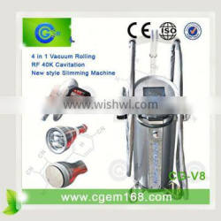 portable home cavitation&tripolar&vacuum for weight loss slimmg Anticellulite