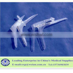 Gynecological exam plastic solid PS side screw type vaginal speculums vaginal dilators