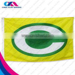 china made print trade show flag banner for sport