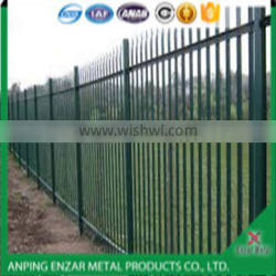 Spray Paint Palisade Fencing