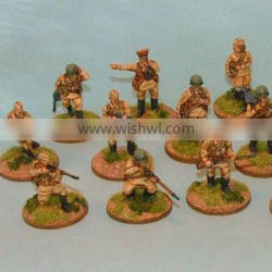 Resin soldiers