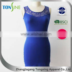 2016 Summer new products close-fitting no sleeve dress