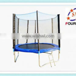 8FT cheap fitness trampoline for kids, China made tranpoline factory price