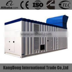 1000kws container type diesel generators CE approved