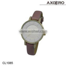 2015 Hot sale Fashion Japan movt quartz hand watch price for girl