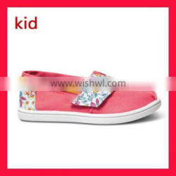 Wholesale Girls Shoes Children Canvas Casual Shoes For Tiny Baby 1-4 Years Old