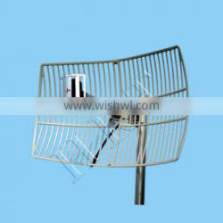 2400MHz 17dBi Outdoor Directional Point To Point Grid Parabolic Antenna TDJ-2400SPD4