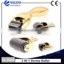 YALO 3 IN 1 skin care derma roller for home use