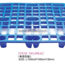 Haixing Virgin or recycled single or double layer plastic transport pallets