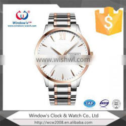 3atm waterproof classic quartz watch with rolexable style