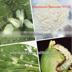 Stomach toxicity pesticide 70% TC Emamectin benzoate