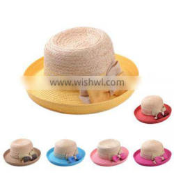 2014 Hot Selling Wholesale Promotional Cheap Manufacture Fashion China Straw Hat