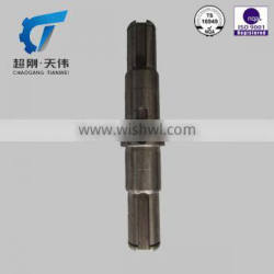 ISO9001 TS16949 OEM Casting Parts Stainless Steel Shaft Drilling machine parts